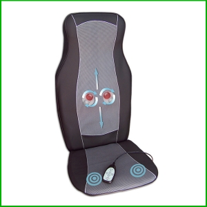 3D deep kneading shiatsu seat massager with heat