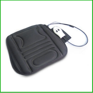 Portable heat and massage pad with vibration